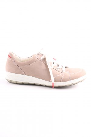 ara Lace Shoes nude-white casual look