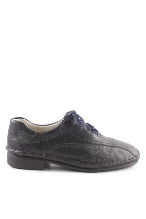 ara Chaussures à lacets noir style extravagant
