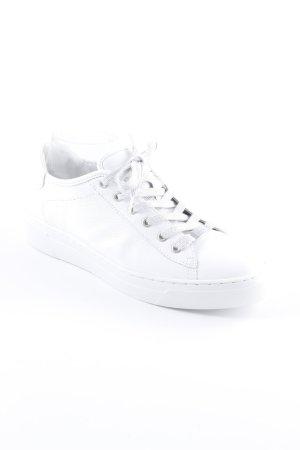ara Sneakers met veters lichtgrijs-wit casual uitstraling