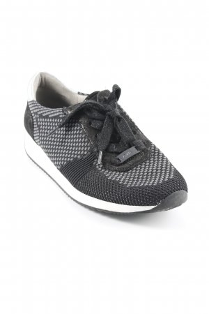 ara Sneaker stringata nero-grigio stile atletico