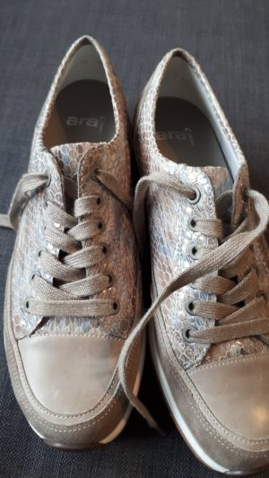 ara Lace Shoes grey brown