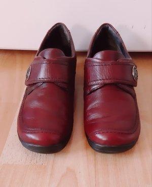 ara Sneaker con strappi carminio Pelle