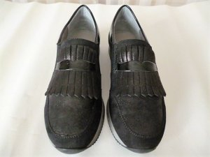 ara Slip-on Sneakers black leather