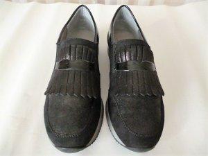 ara Basket slip-on noir cuir