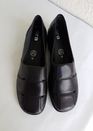 ara Slip-on Shoes black leather