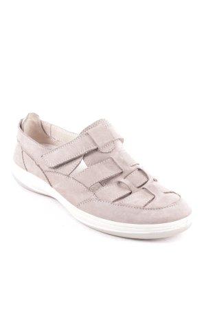 ara Sneaker Klettverschluss graubraun Casual-Look