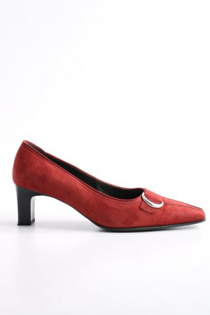 ara Pointed Toe Pumps red business style