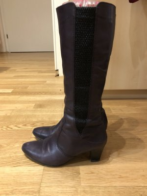 ara Winter Boots dark violet-brown violet