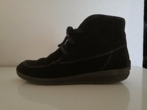 ara Lace Shoes black suede