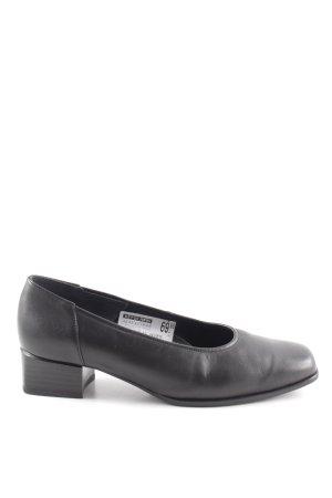 ara Loafers zwart zakelijke stijl