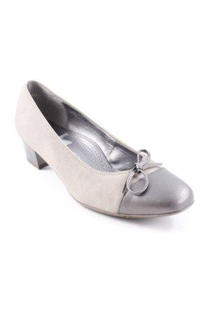 ara Loafer beige-grigio scuro color block elegante