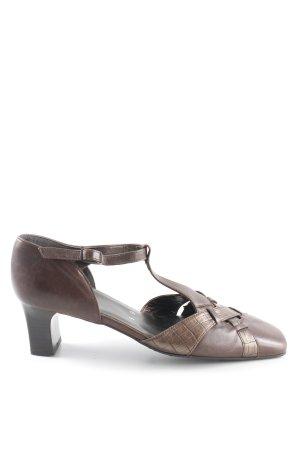 ara Loafers donkerbruin-brons Jaren 90 stijl