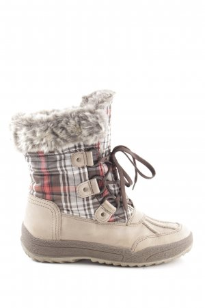 ara Winter Boots check pattern street-fashion look