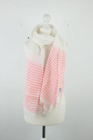 Arabella & Addison Chal veraniego blanco puro-rosa