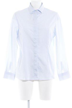 Arami Langarm-Bluse himmelblau Business-Look