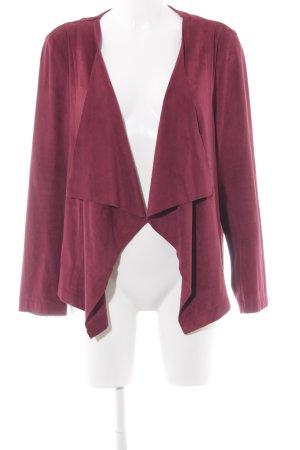 Arcadia Kurz-Blazer purpur klassischer Stil