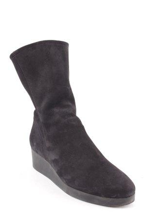Arche Booties schwarz minimalistischer Stil