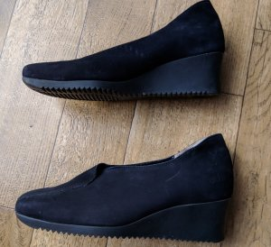 Arche Slip-on Shoes black leather