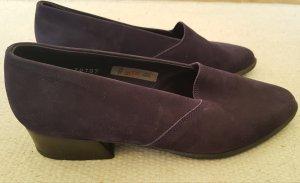 Arche Chaussure décontractée violet foncé daim