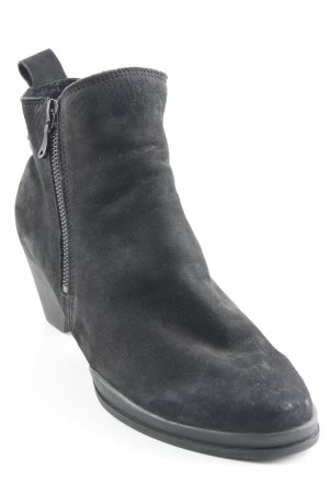 Arche Zipper Booties black casual look
