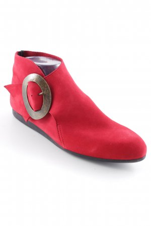Arche Slip-on Booties brick red casual look