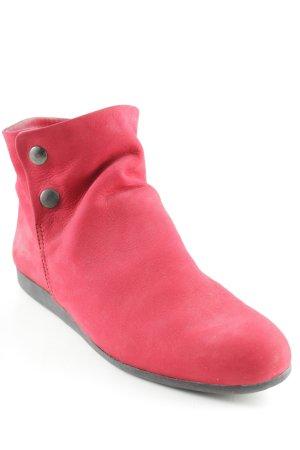Arche Scarpa slip-on rosso stile minimalista