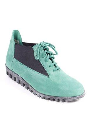 Arche Schnürschuhe grün-schwarz sportlicher Stil
