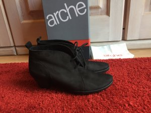 Arche Lace-up Booties black