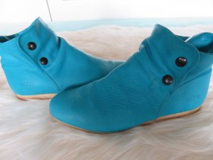 Arche Slip-on Booties light blue leather
