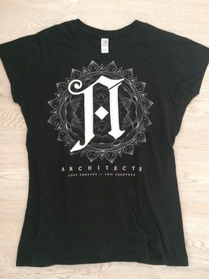 Architects, Lost Forever Lost Together Girlie T-Shirt Gr. M