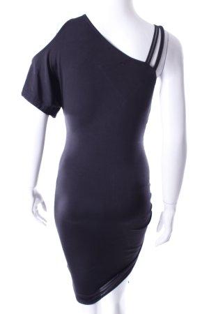 Arden B. One-Shoulder-Kleid schwarz