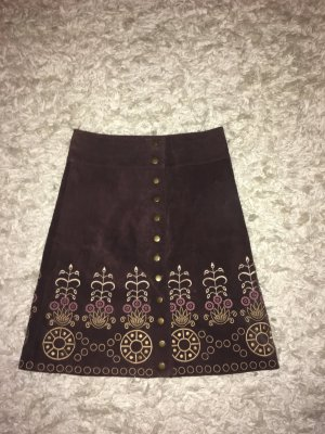 Leather Skirt multicolored