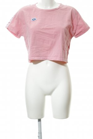 Arena Cropped Shirt pink casual look