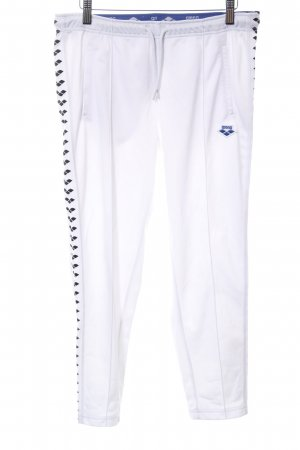Arena Jersey Pants natural white-black athletic style