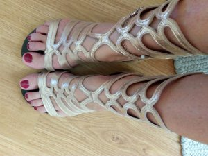 Arezzo Roman Sandals sand brown