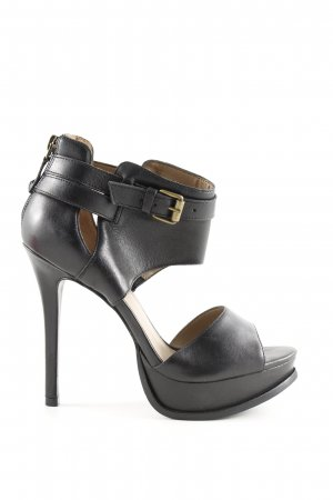 Arezzo Platform Pumps black party style