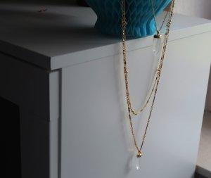 Aria Halskette Gold Farbe