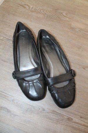 ariane by Deichmann Schuhe Slipper Halbschuhe Schwarz Gr.40 anthrazit ballerinas