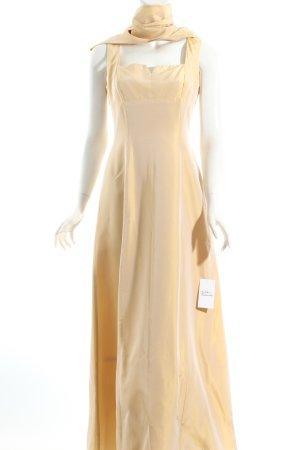 Ariella Vestido de noche crema elegante