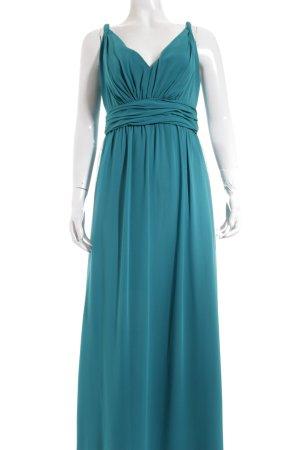 Ariella Vestido de noche turquesa elegante