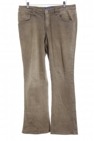 Arizona Boot Cut Jeans olivgrün Casual-Look