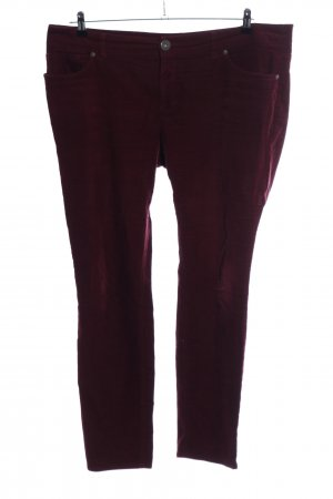Arizona Corduroy Trousers red casual look