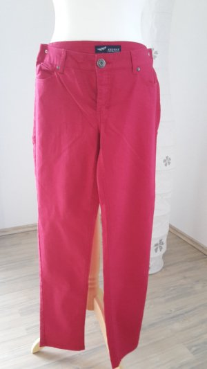 Arizona Damen Jeans rot