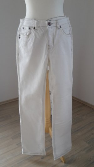 Arizona Damen Jeans weiß