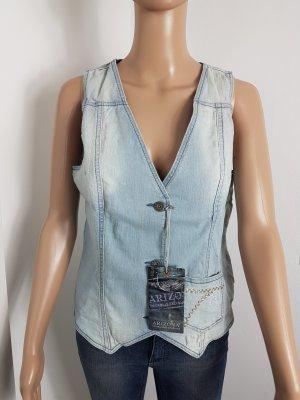 hot sale online e7cfb b1793 ARIZONA Damen Jeans Weste blue light Denim Größe 40 NEU mit Etikett