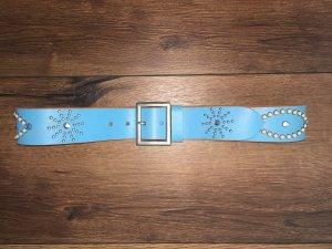 Arizona Dream Company Gürtel Ledergürtel Leder 80 mit Steinen Nieten