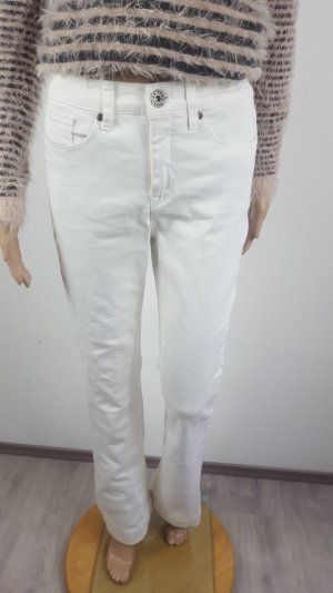 Arizona Denim Flares white cotton