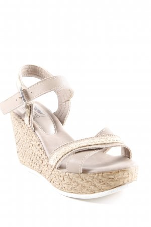 Arizona High Heel Sandaletten mehrfarbig Beach-Look