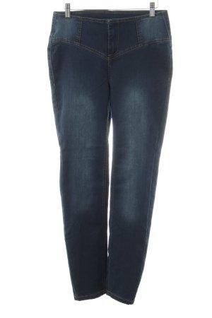 Arizona Jeans a vita alta blu stile casual
