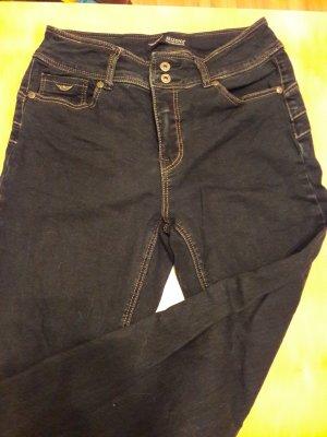 Arizona Tube jeans donkerblauw